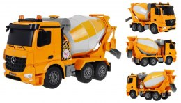 Autko R/C Mercedes-Benz Arocs 2.4G Betoniara 1:20 Double E