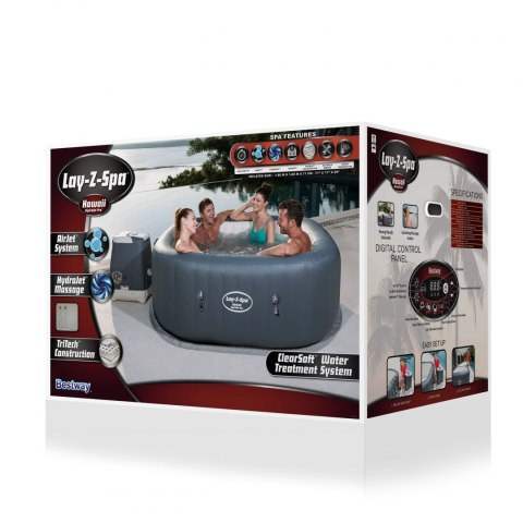 Lay-Z-Spa Hawaii Jacuzzi BESTWAY