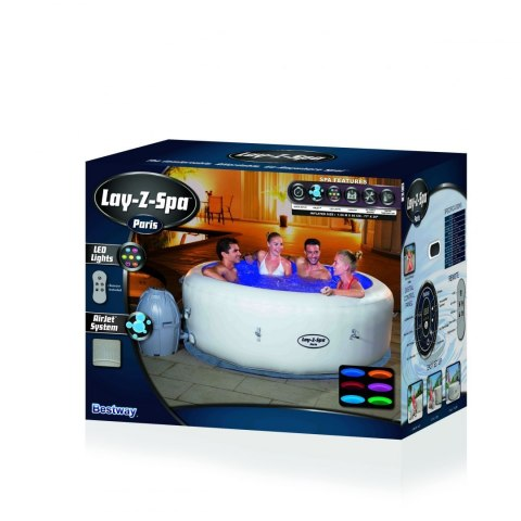 Lay-Z-Spa Paris Jacuzzi BESTWAY