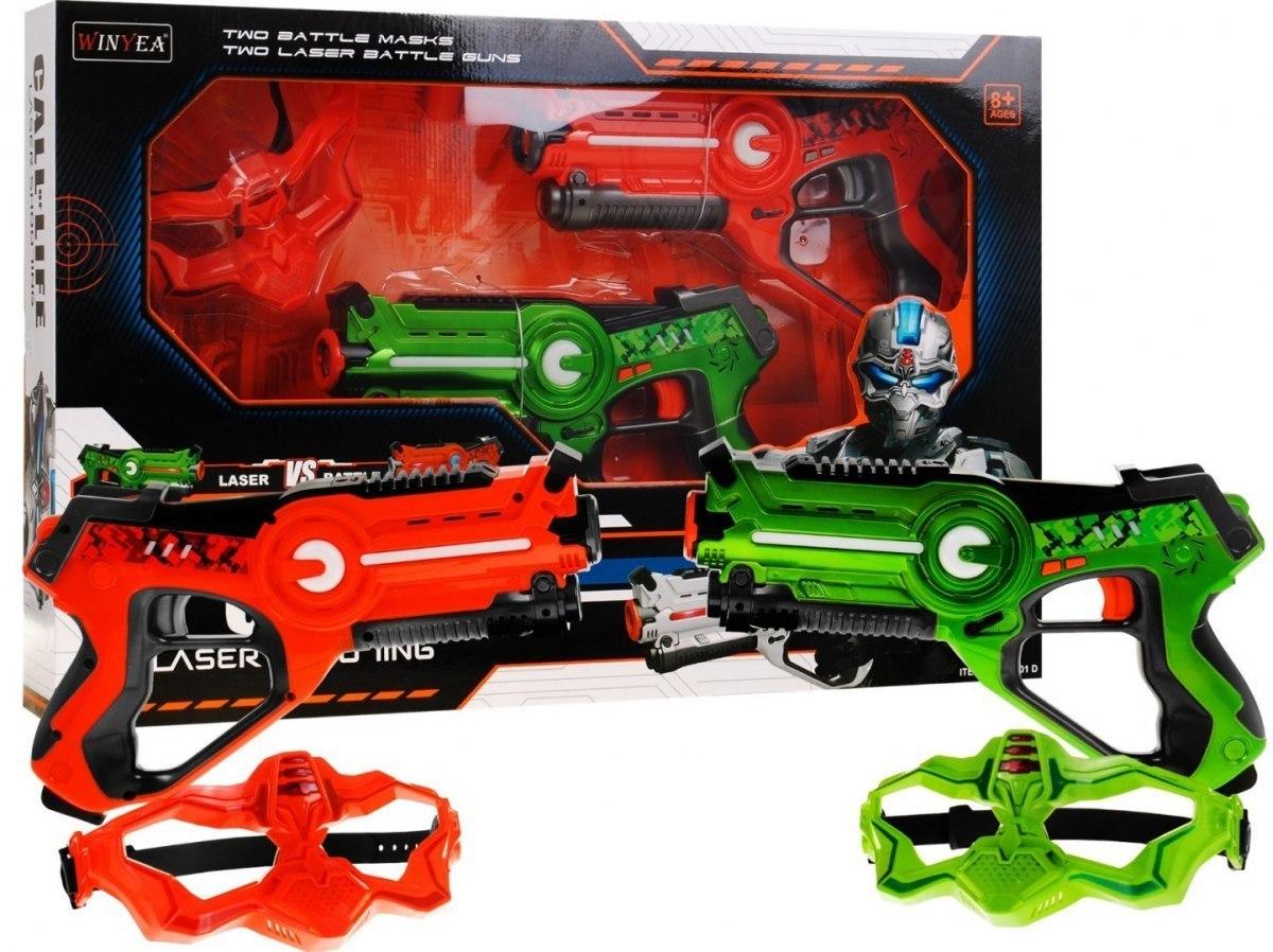 laser tag pistolety