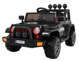 Auto na akumulator Jeep Full Time 4WD 4x4 Czarny