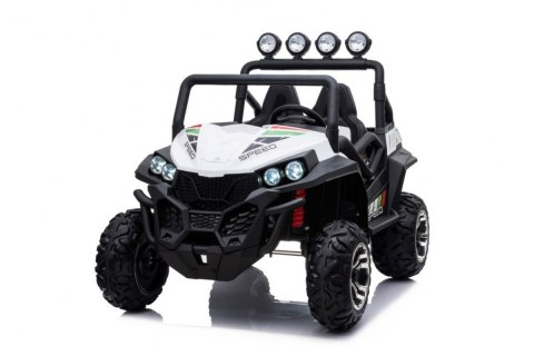 Auto na akumulator Grand Buggy 4x4 LIFT Biały