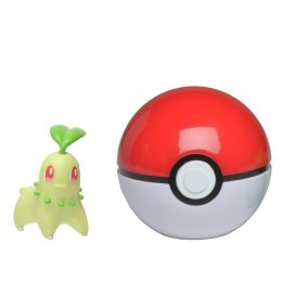 Pokemon Clip'N'Go Pokeball - Chikorita + Pokeball