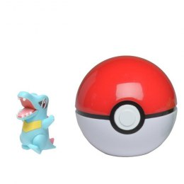 Pokemon Clip'N'Go Pokeball - Totodile + Pokeball