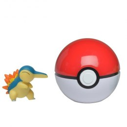 Pokemon Clip'N'Go Pokeball - Cyndaquil + Pokeball