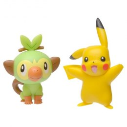 Pokemon Figurki Battle - Pikachu/Grookey