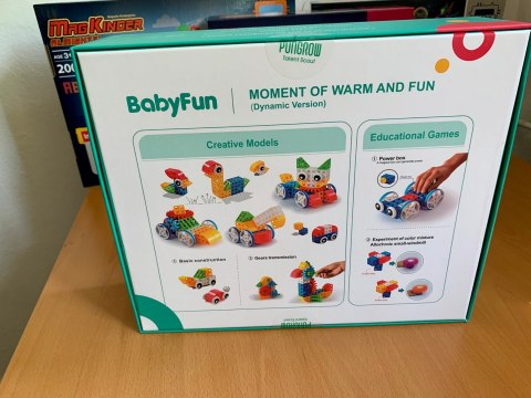 Klocki konstrukcyjne PUNGROW Baby fun - Warm and fun