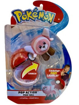 Pokemon Pop Action Poke Ball Ast. Stufful