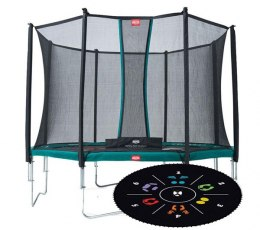 BERG Trampolina Favorit Tattoo 430cm siat.Comfort