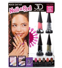 MGA Nail-a-Peel Theme Kit- Rock Out