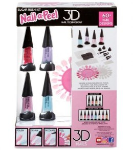 MGA Nail-a-Peel Theme Kit- Sugar Rush
