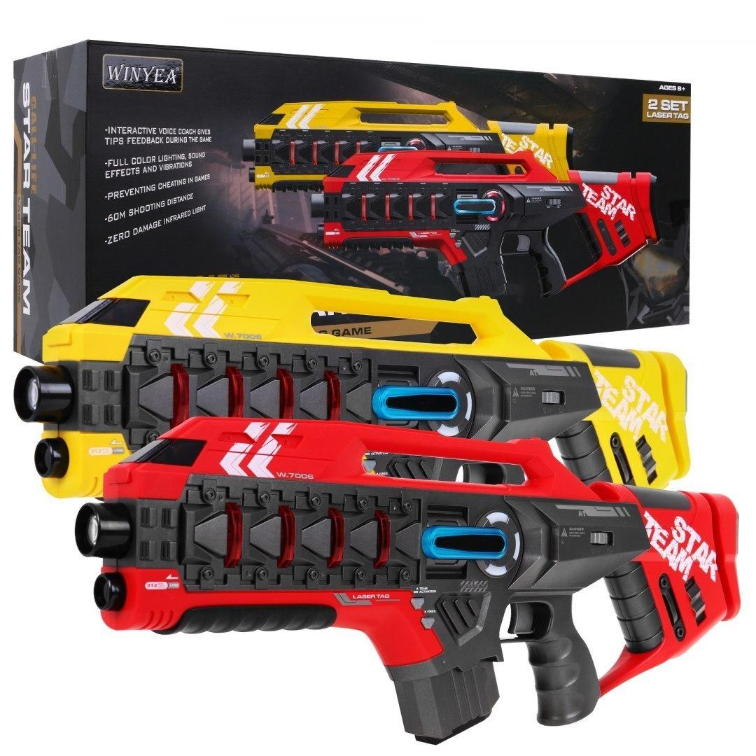Duże Pistolety Laserowe Star Team Laser Tag
