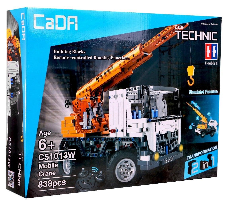 Image of Klocki Technic zdalnie sterowane - Ciężarówka Dźwig CaDA C51013W