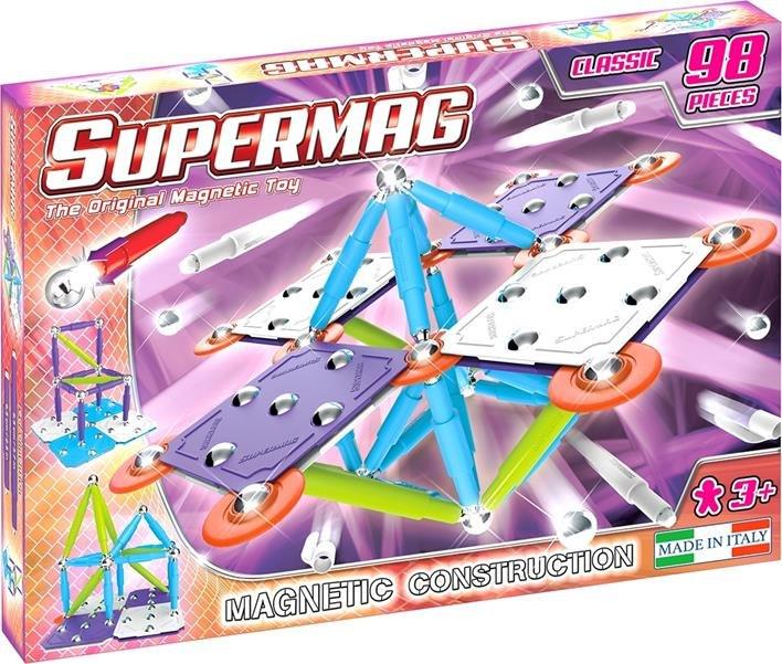 Klocki magnetyczne Supermag Classic Trendy 98