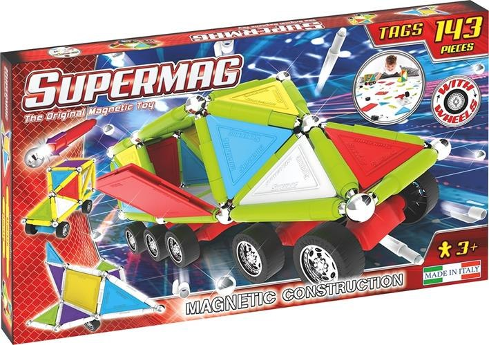 Klocki Magnetyczne Supermag Tags Wheels 143