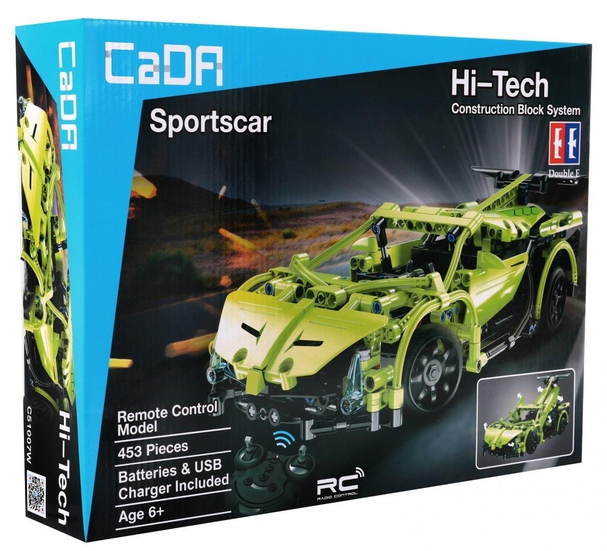 Image of Klocki Technic zdalnie sterowane - Autko Sportowe CaDA C51007W