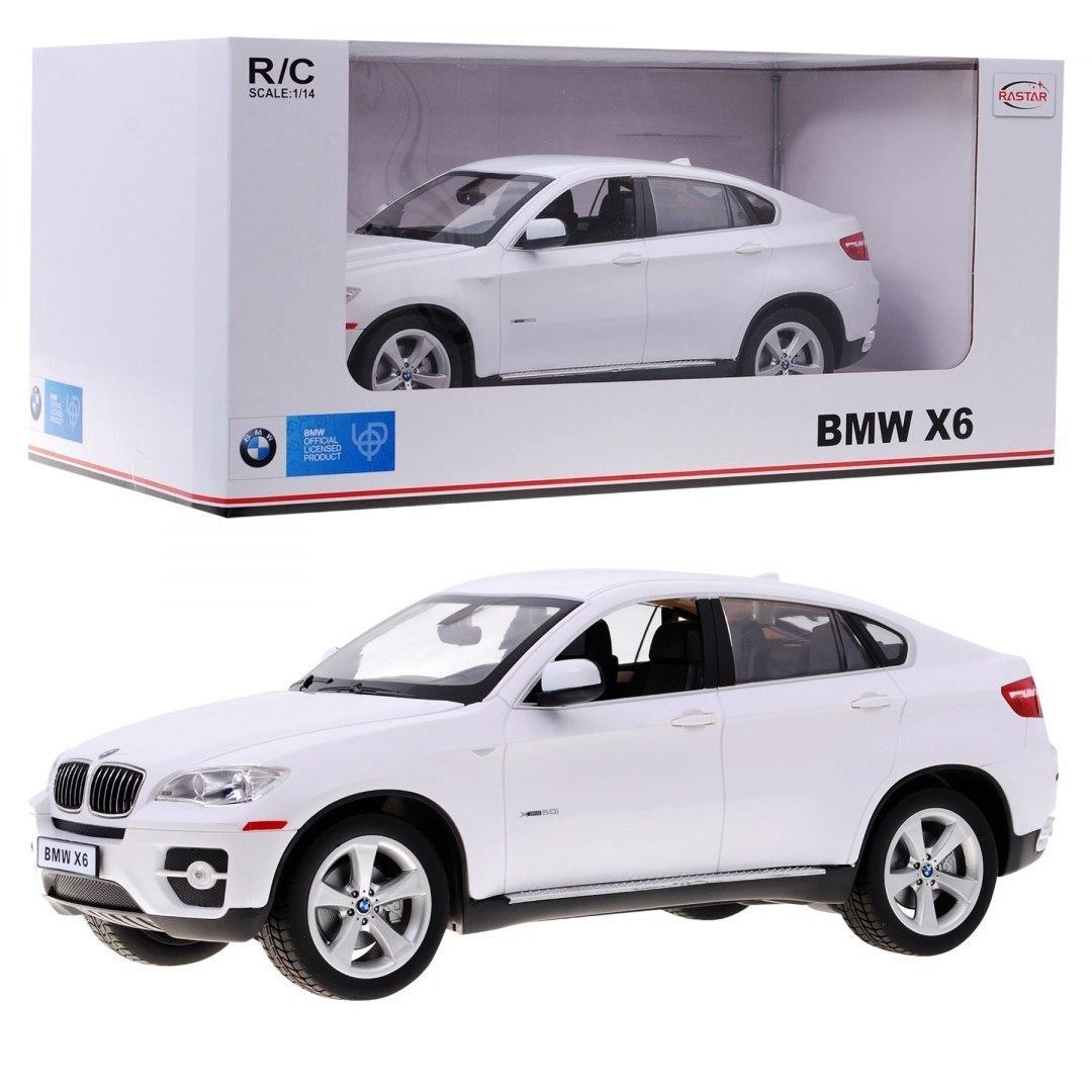 Autko zdalnie sterowane samochód R/C BMW X6 Biały 1:14 RASTAR
