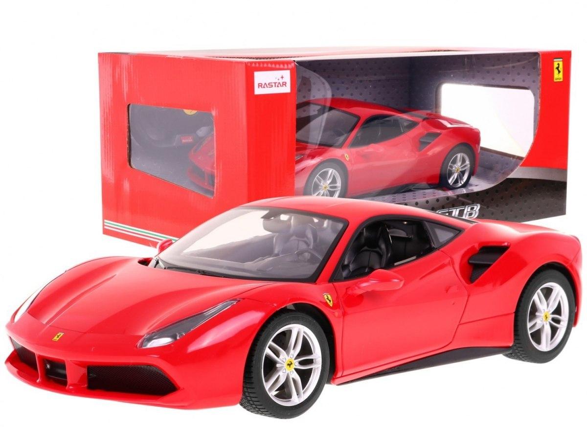 Autko zdalnie sterowane samochód R/C Ferrari 488 GTB Czerwony 1:14 RASTAR