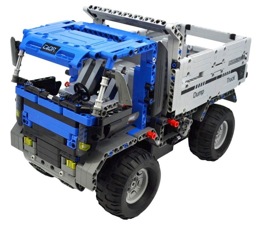 Image of Klocki Technic zdalnie sterowane - Ciężarówka Niebieska CaDA C51017W