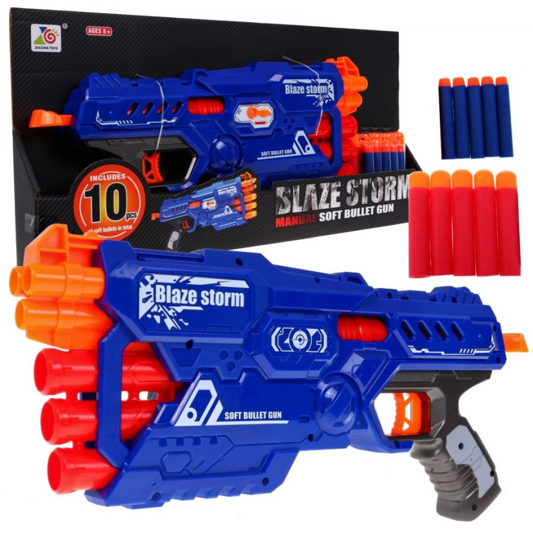 Blaze Storm Pistolet Niebieski
