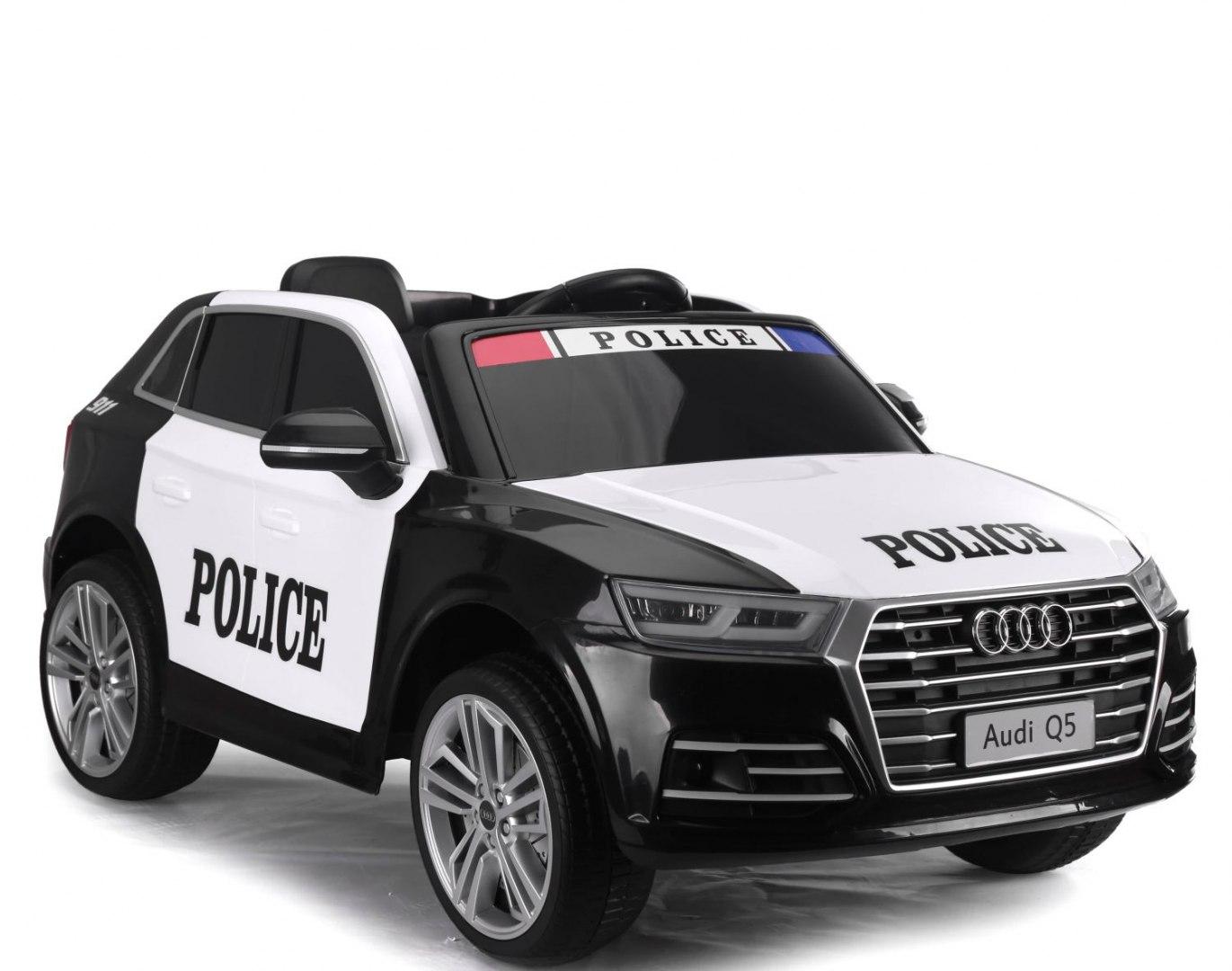 Image of AUDI Q5 POLICJA , MIĘKKIE KOŁA, MIĘKKIE SIEDZENIE, RADIO FM, BLUETOOTH - PEŁNA OPCJA/S305