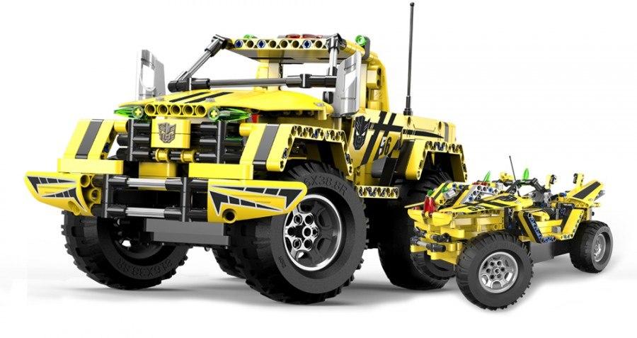 Image of Klocki Technic zdalnie sterowane Bumblebee Pickup CaDA C51003W