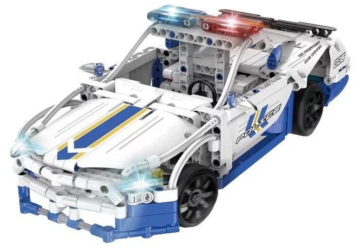 Image of Klocki Technic zdalnie sterowane - Samochód policyjny CaDA C51006W