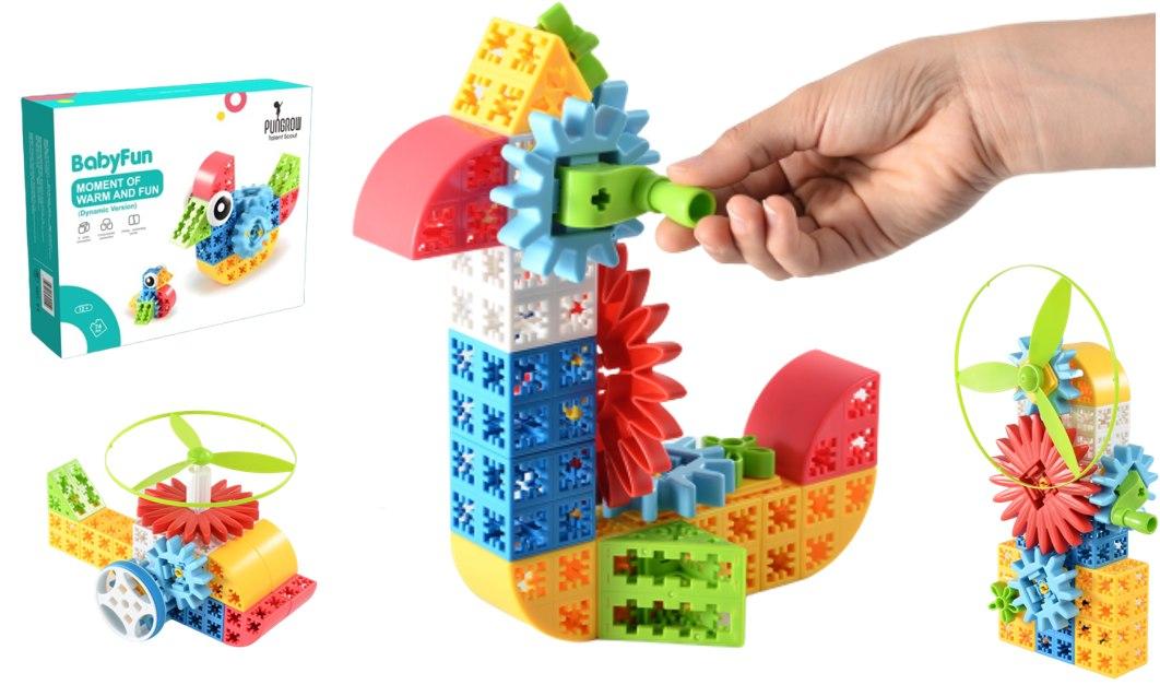 Image of Klocki konstrukcyjne PUNGROW Baby fun - Warm and fun