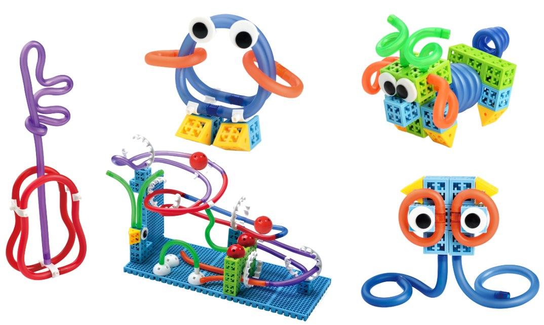 Image of Klocki konstrukcyjne PUNGROW Linkgood - Twisting Fun