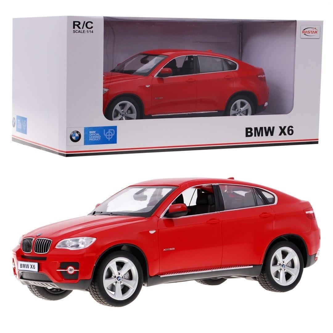 Autko R/C BMW X6 Czerwony 1:14 RASTAR