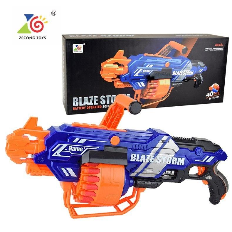 Blaze Storm Duży Karabin Maszynowy Niebieski