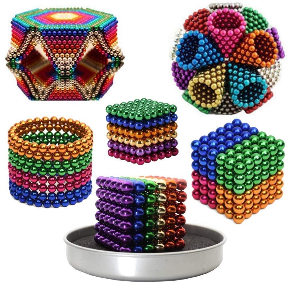 Kolorowe Kulki Magnetyczne