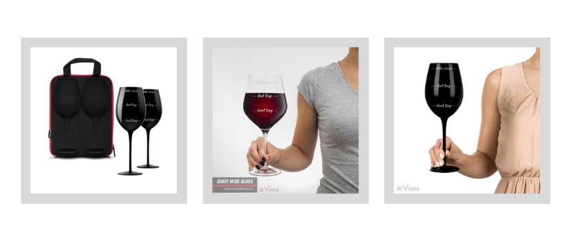 gigantyczny kieliszek do wina who cares