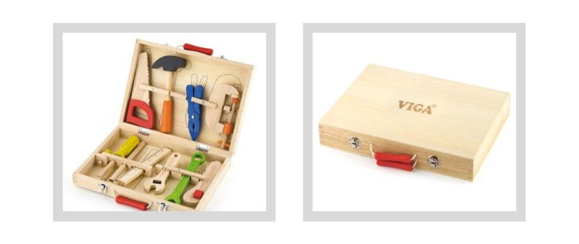 walizka z narzędziami dla dzieci