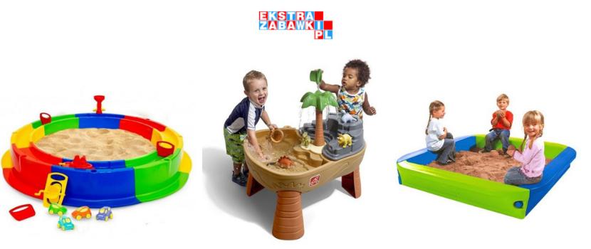piaskownice ogrodowe dla dzieci